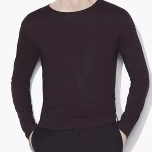 JOHN VARVATOS CREW NECK WITH SHOULDER DETAIL $168